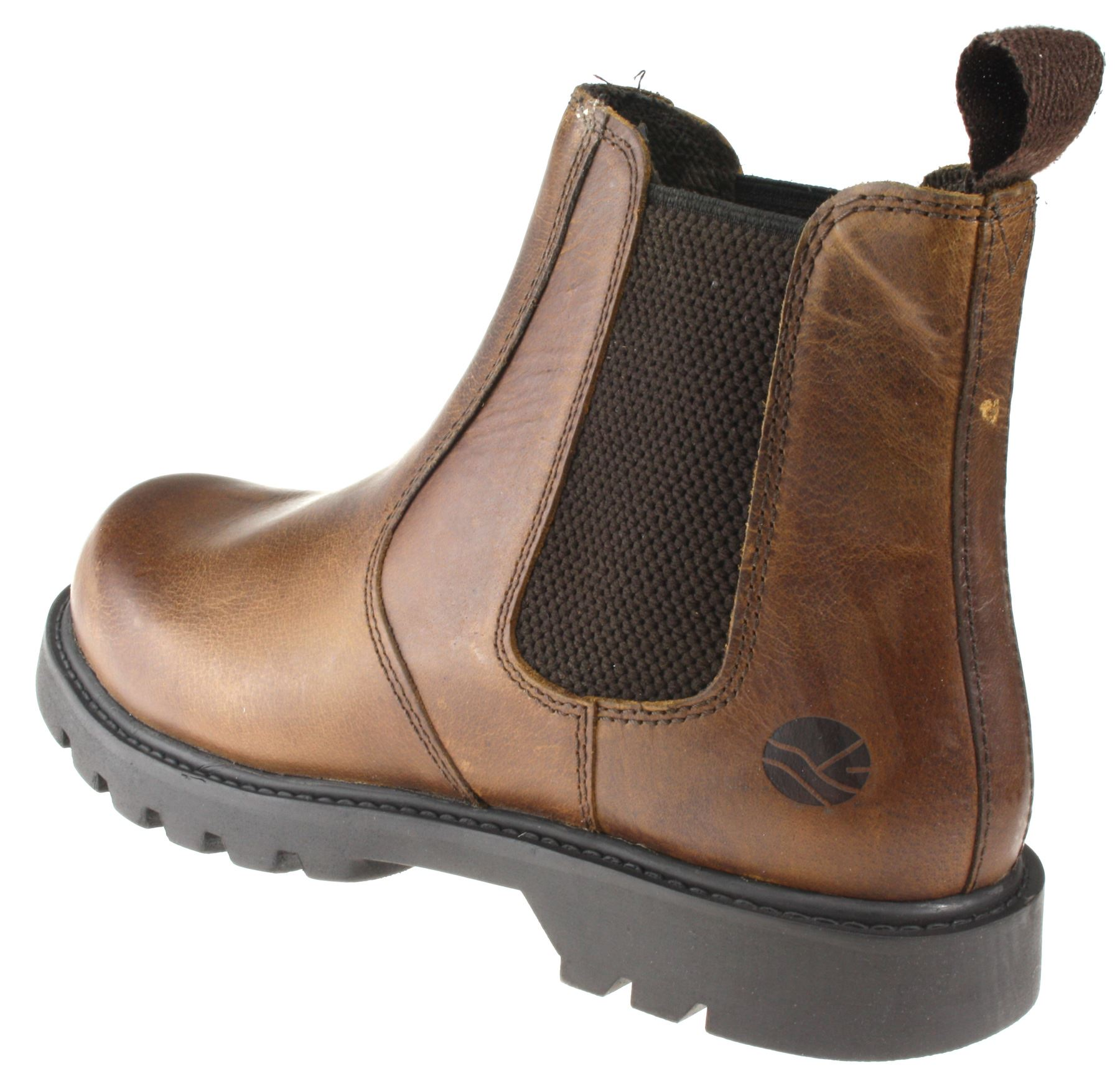 Oaktrak Rocksley 2 Mens Tan Brown Chelsea Boots